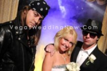 Rock-n-roll wedding