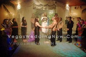 Egyptian Theme Wedding